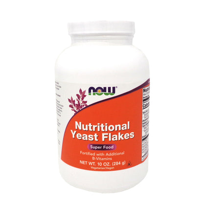 Now Foods Nutritional Yeast Flakes  10 Ounces