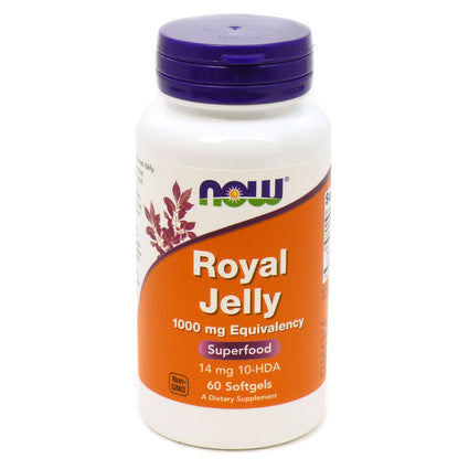 Royal Jelly 1000 mg by Now Foods - 60 Softgels