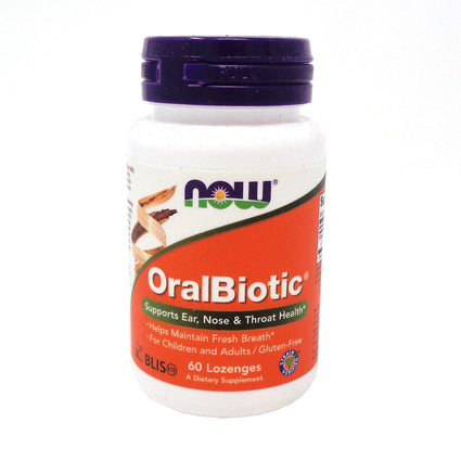 OralBiotic By Now Foods - 60 Lozenges