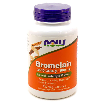 Bromelain 500 mg by Now Foods 120 Vegetarian Capsules