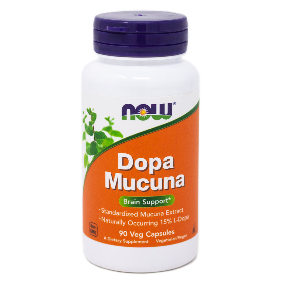 Now Foods Dopa Mucuna 15% 400mg - 90 Vcaps