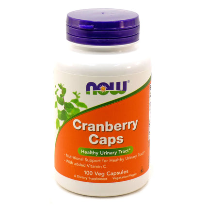 Cranberry Concentrate   By Now Foods - 100 Caps