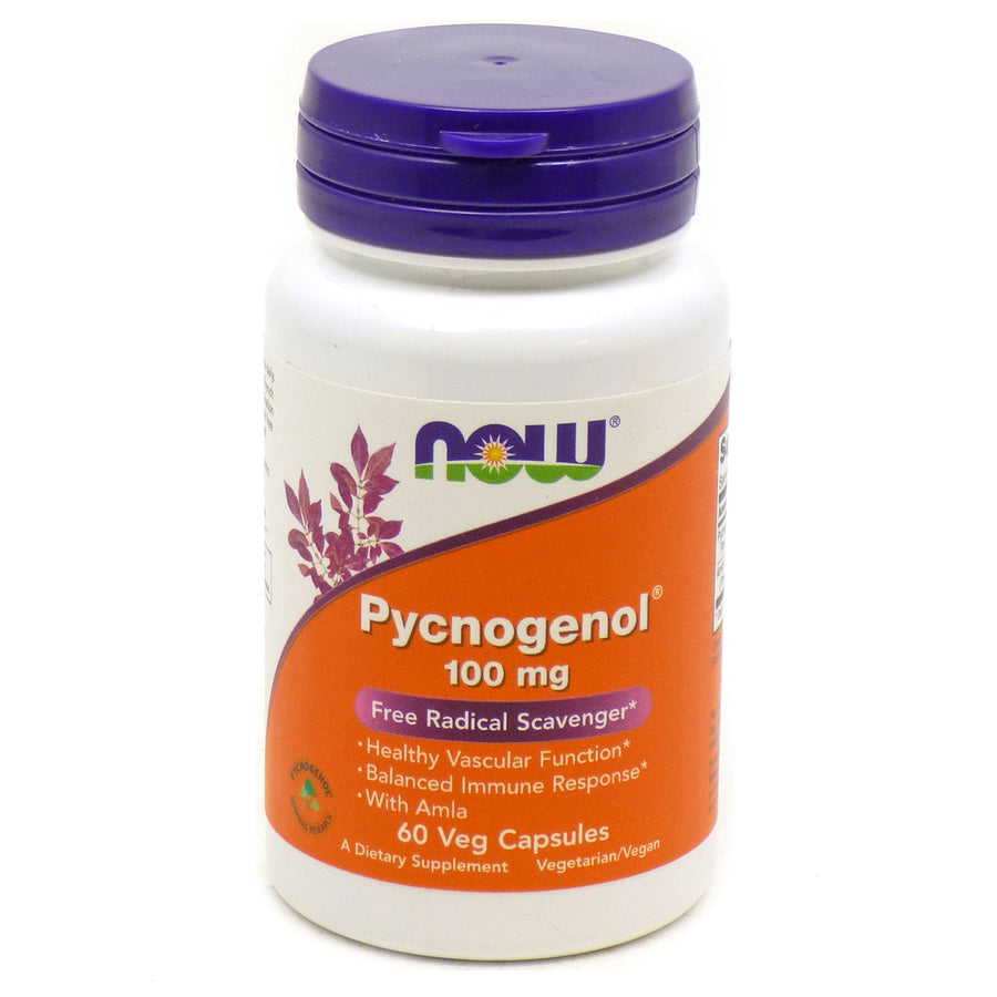 Pyconogenol 100mg By Now Foods - 60 Veg Capsules