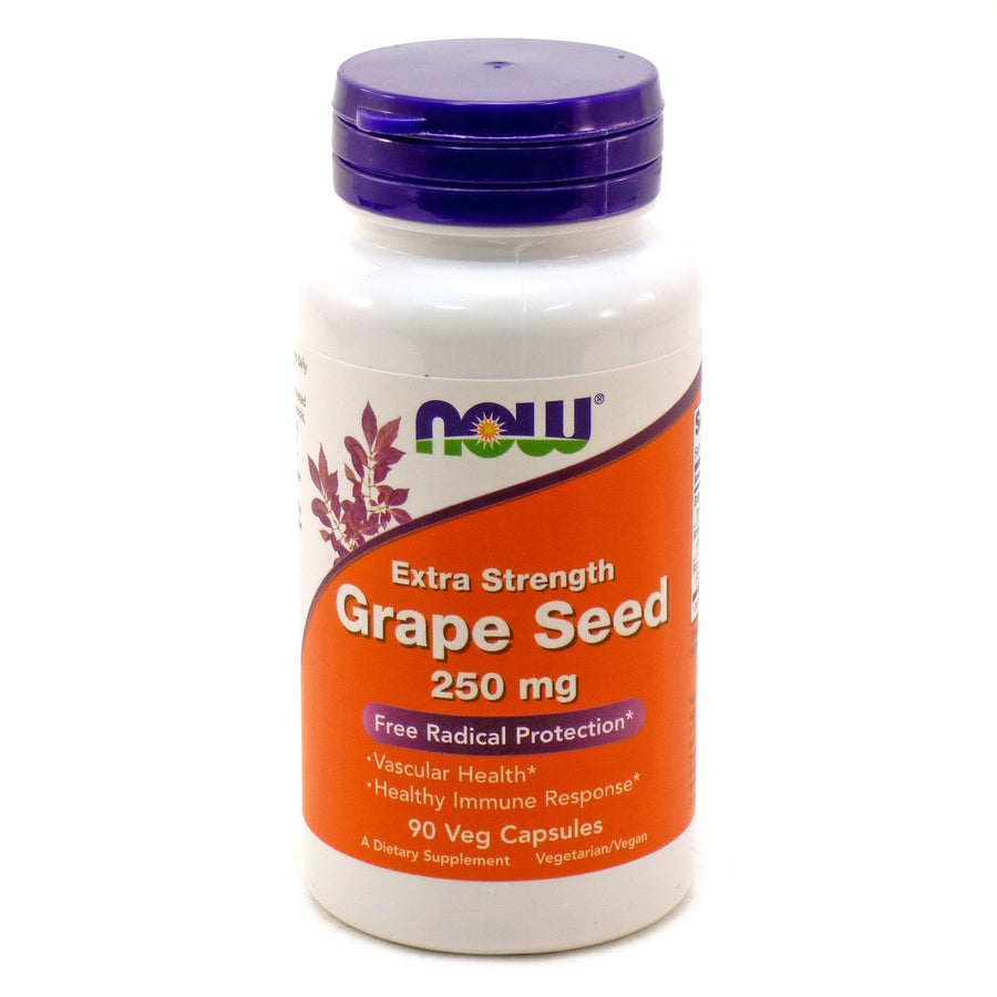 Grape Seed Extract  250Mg   By Now Foods -  90 Vcaps