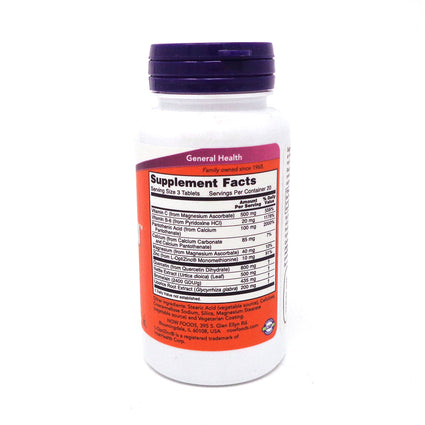 Respir-All (Allergy Support) Vegetarian By Now Foods 60 Tablets