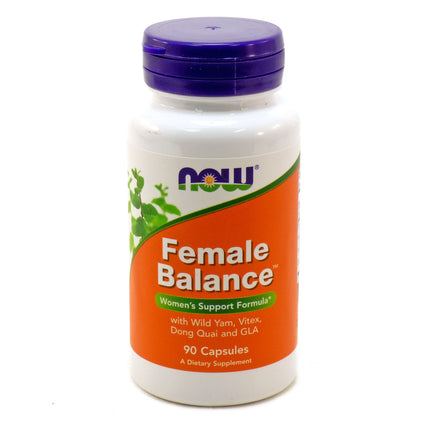 Female Balance Women's Support By Now Foods - 90 Capsules