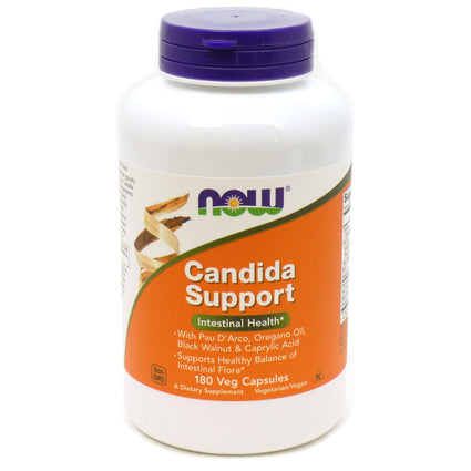 Candida Clear by Now Foods 180 Vegetarian Capsules