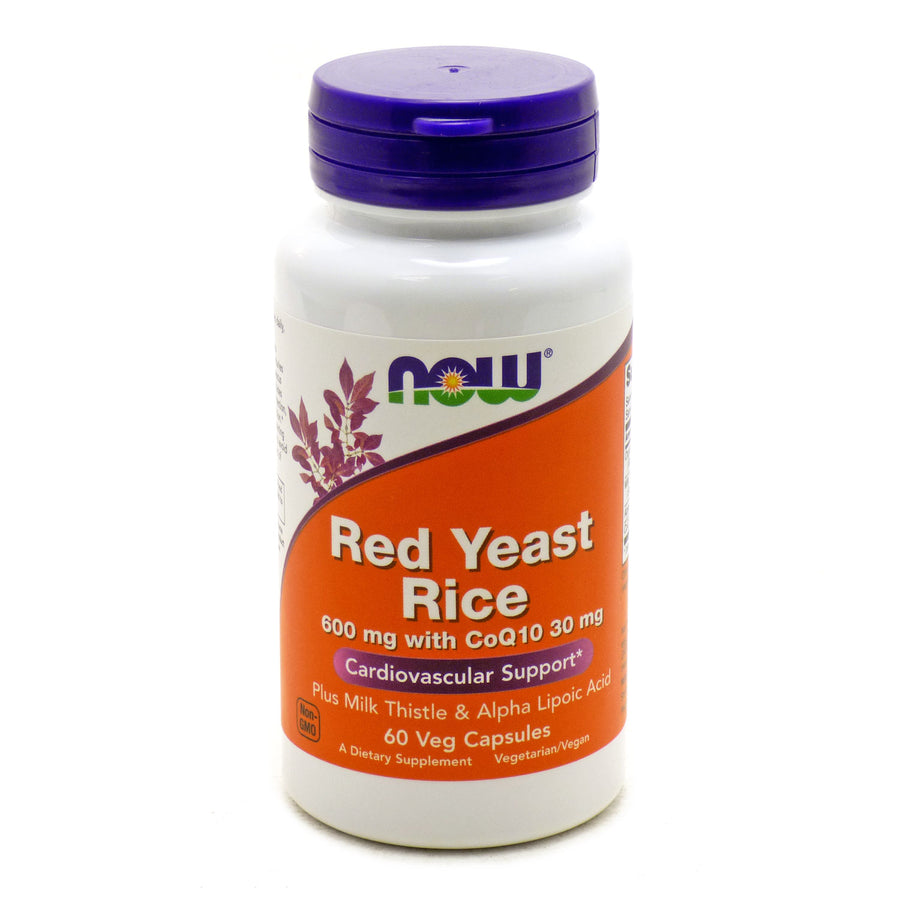 Red Yeast Rice 600 mg by Now Foods 60 Vegetarian Capsules