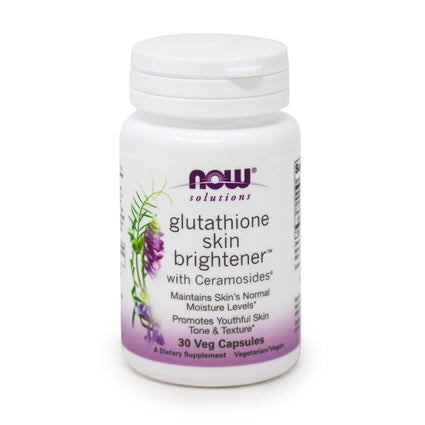 Now Foods Glutathione Skin Brightener -30 Capsules