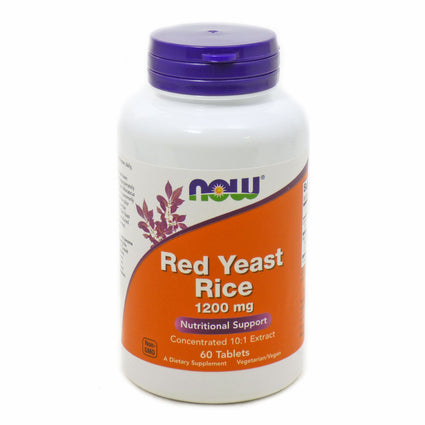 Red Yeast Rice Extract 1200Mg    By Now Foods - 60 Tabs