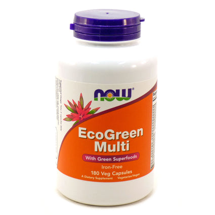 Eco-Green Multi   By Now Foods - 180 Vcaps