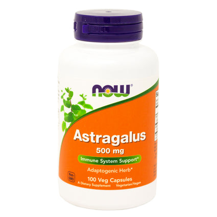 Now Foods Astragalus 500Mg  100 Capsules