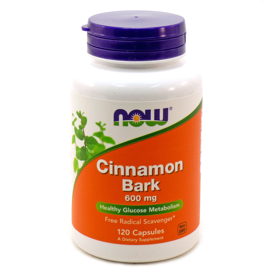 Cinnamon Bark 600Mg   By Now Foods - 120 Caps