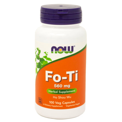 Now Foods Fo-Ti 560mg - 100 Vcaps
