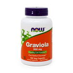 Graviola 500 mg by Now Foods - 100 Capsules