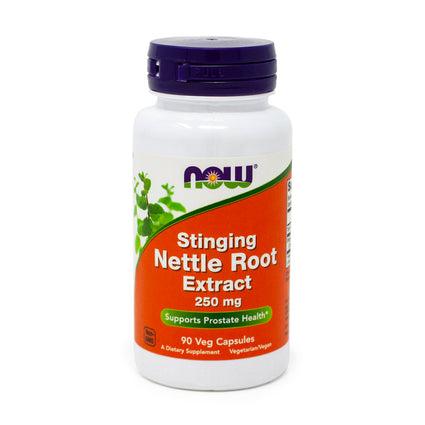 Nettle Root Extract 250Mg   By Now Foods - 90 Vcaps