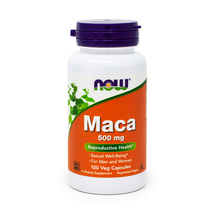 Maca 500Mg   By Now Foods - 100 Caps