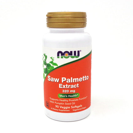 Saw Palmetto 320 Mg   By Now Foods - 90 Sgels