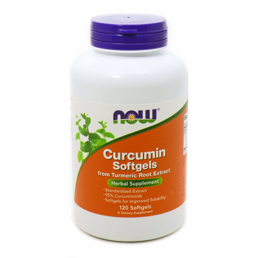 Curcumin by Now Foods - 120 Softgels