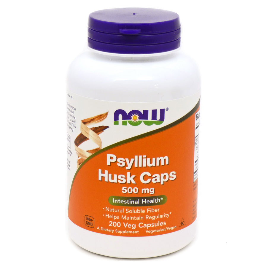 Psyllium Husk Caps by Now Foods - 200 Capsules