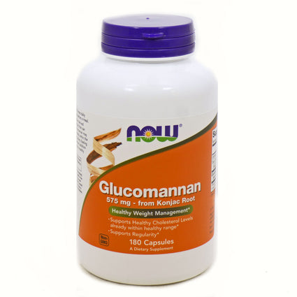 Glucomannan by Now Foods - 180 Capsules