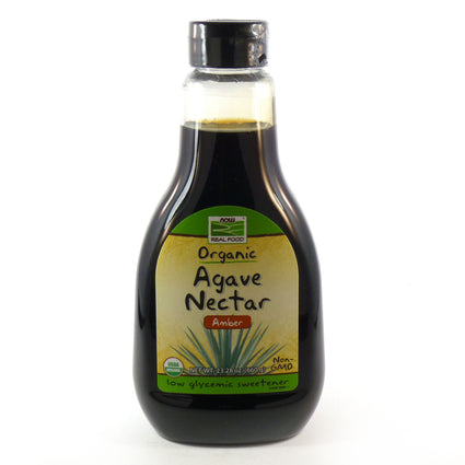 Organic Agave Nectar Amber By Now Foods -23.28 Ounces