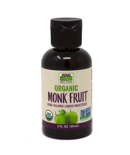 Now Foods Monk Fruit Liquid Organic - 2 Ounces