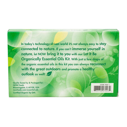 Now Foods Let it Be Organically - 1 Kit
