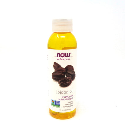 Jojoba Oil Pure   By Now Foods - 4 Oz