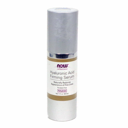 Hyaluronic Acid Serum By Now Foods - 1 Ounce