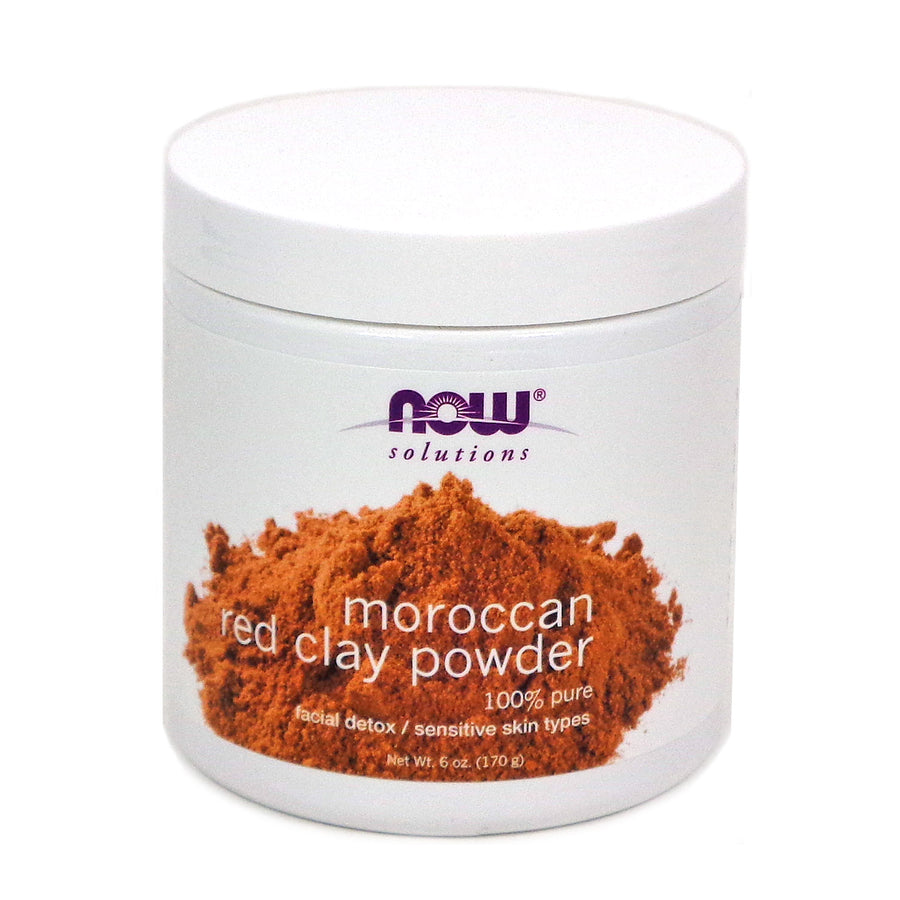 Red Clay Powder Moroccan By Now Foods - 6 Ounces