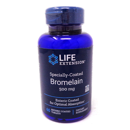 Bromelain 500mg Specially Coated By Life Extension - 60 Tablets