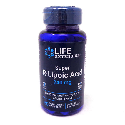 Super R-Lipoic Acid 300mg By Life Extension - 60 Veg Capsules