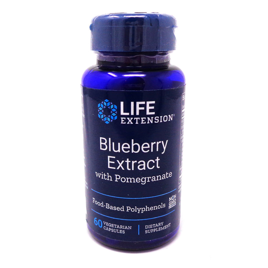 Blueberry Extract with Pomegranate By Life Extension - 60 Vegetarian Capsules