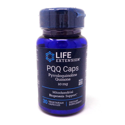PQQ Caps with BioPQQ By Life Extension - 30 Vegetarian Capsules