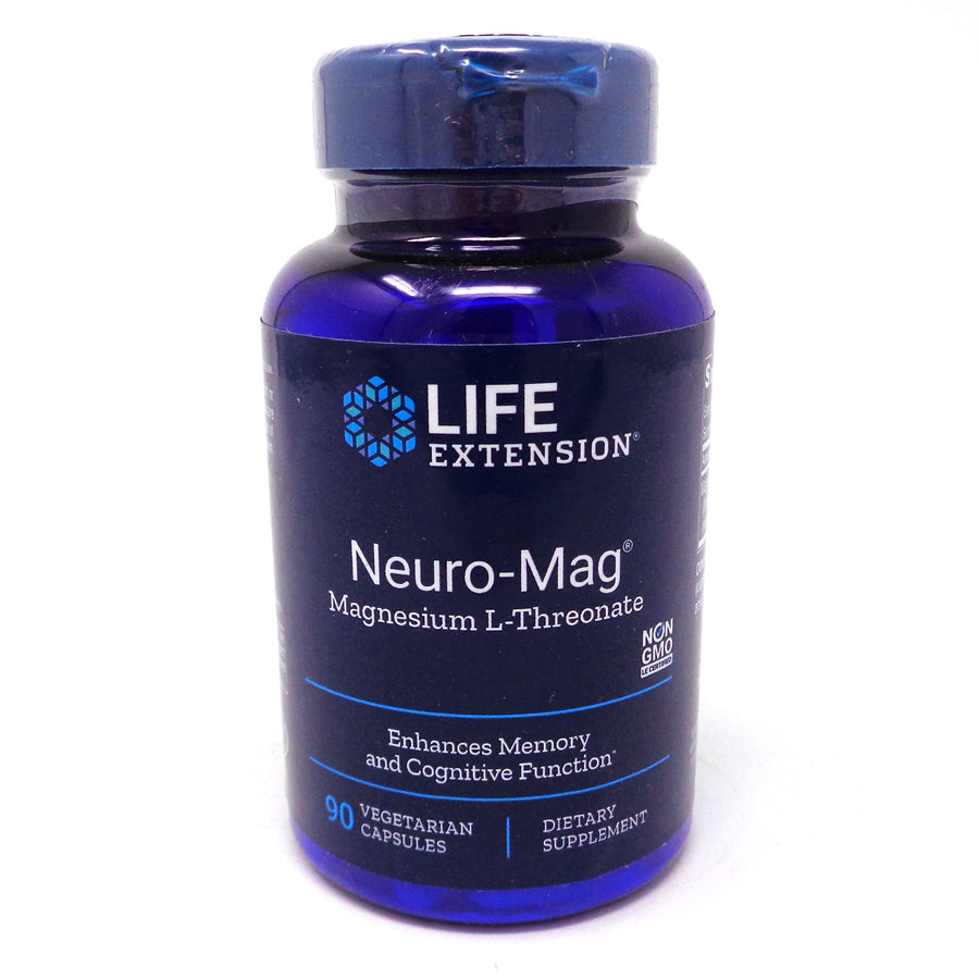Neuro-Mag Magnesium By Life extension - 90 Capsules
