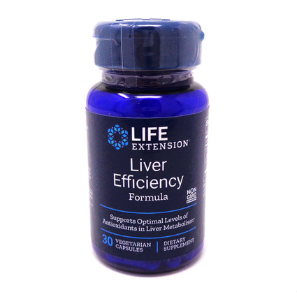 Liver Efficiency Formula By Life Extension - 30 Veg Capsules