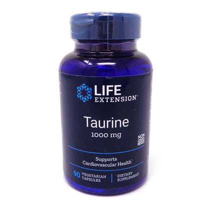 Taurine 1000 mg  by Life Extension - 90 Capsules