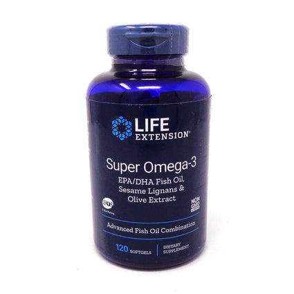 Super Omega-3 by Life Extension - 120 Softgels