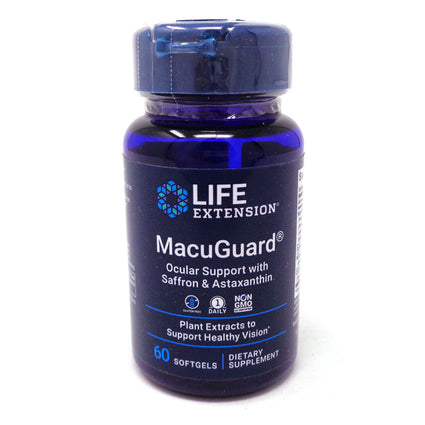MacuGuard by LifeExension - 60 Softgels