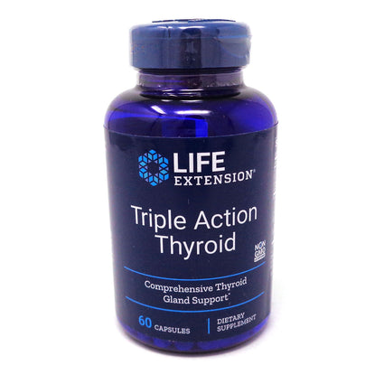 Triple Action Thyroid by Life Extension - 60 Capsules