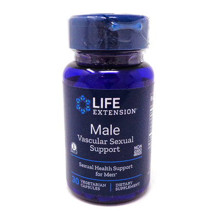 Life Extension Male Vasculoar Sexual Support  - 30 Capsules