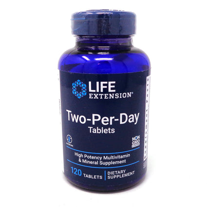 Life Extension Two-per-Day Tablets - 120 Tablets