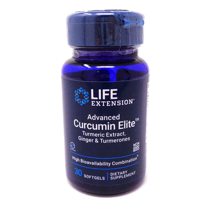 Life Extension Advanced Curcumin Elite Turmeric Extract Ginger  - 30 softgels
