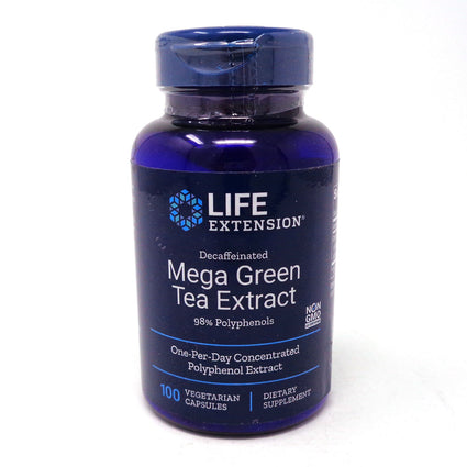 Mega Green Tea Extract By Life Extension - 100 Veg Capsules