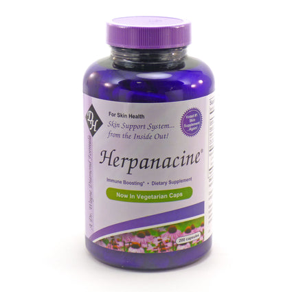 Herpanacine Skin Support By Diamond Herpanacine - 200 Capsules