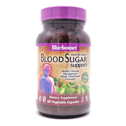 Bluebonnet Blood Sugar Support  - 60 Capsules