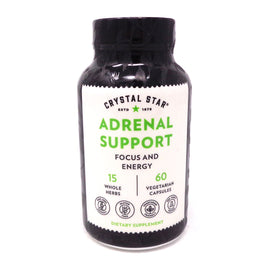 Adrenal Support  by Crystal Star - 60 Capsules