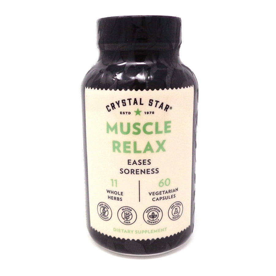 Muscle Relaxer - 60 Capsules by Crystal Star