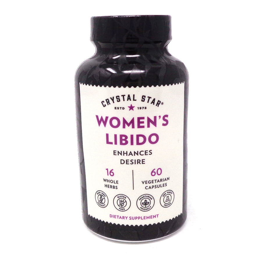 Women's Libido - 60 Capsules by Crystal Star